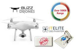 DJI Phantom 4 with Extra Range Extender - Was R25 000 NOW ONLY R21 500