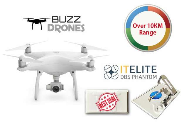 DJI Phantom 4 with Extra Range Extender - Was R25 000 NOW ONLY R21 500 Vanderbijlpark - image 1