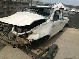 Toyota Hilux D4D Stripping for Parts