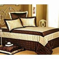 High Qulity Leather bedding Set 5PCS