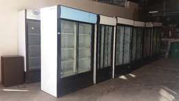 The BIG Refrigerator StayCold / Husky two Sliding doors