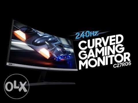 "Screen Samsung 240hz Gaming 27"" Curved NVIDIA® G-SYNC™ سعر خاص للكميات"