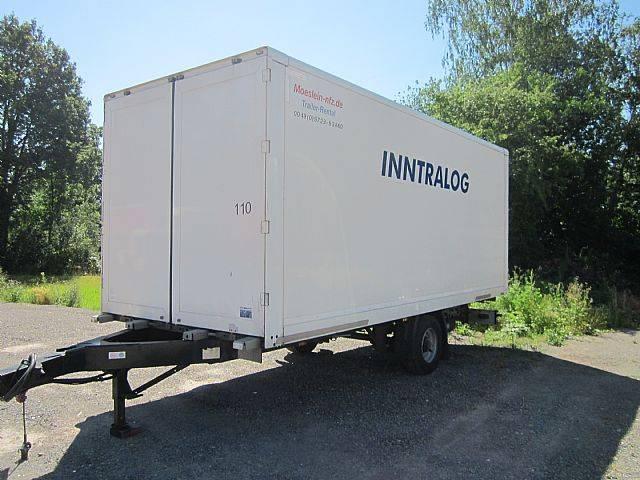 Möslein 1 Achs Koffer 4,5 t Ges. Gewicht durchladbar Luftf - 2014