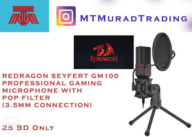 Red Dragon microphone