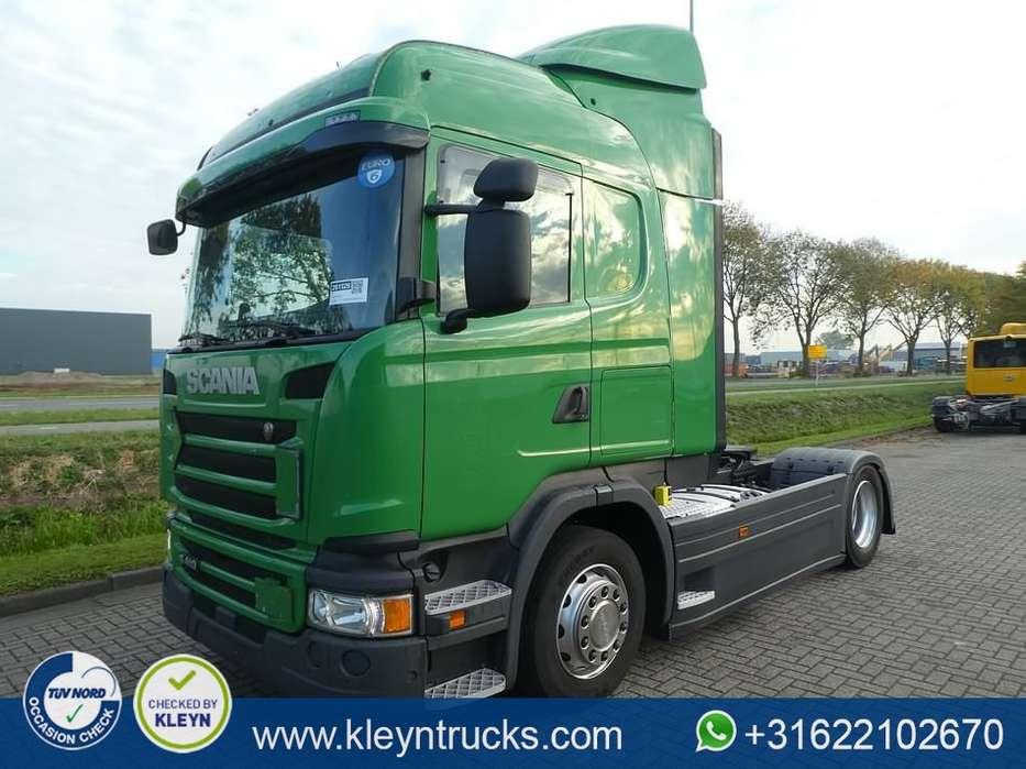 Scania G410 hl 2x tank retarder - 2014