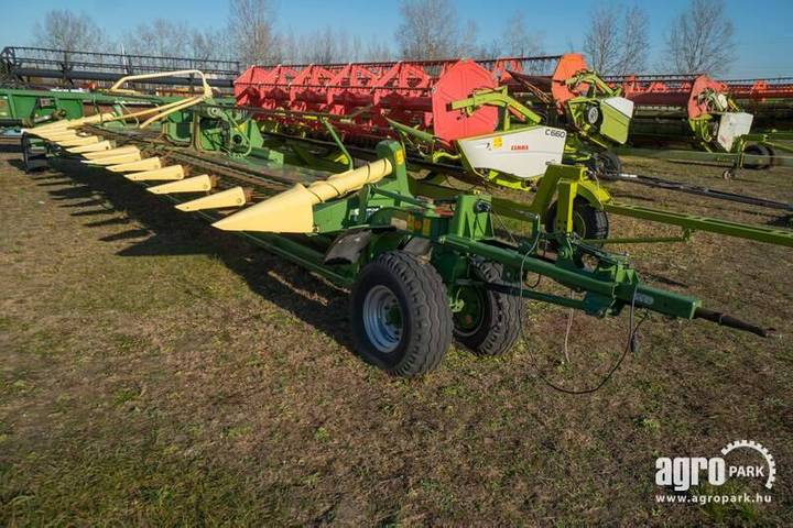 Krone Easycollect 9000, 12 Row, 9 M Wide, Row Independen - 2009