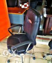 Quality Office Swivel Chair (Leather)