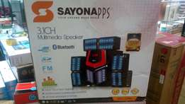 Sayona 3.1 multimedia speaker SHT-1175BT