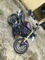 Power bike Triumph street triple.2013