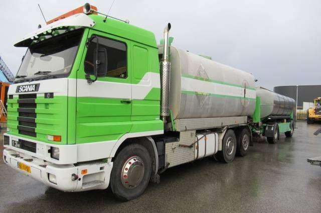 Scania 113 Bitumensprayer Combi - 1994 - image 8
