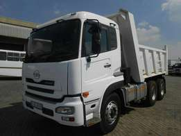 2011 Nissan UD 390 WITH 10 cube Tipper body for sale