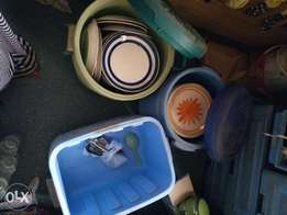 Plates and coolers