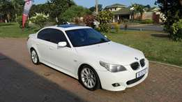 BARGAIN 2007 BMW 525i Motorsport Very clean inside and out