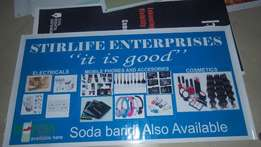 Large Format printing,Light box Signage,Stickers,Banners.
