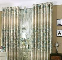 Curtains installed in one of the hotels in Kampala