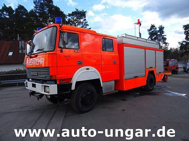 Iveco 160 30 Feuerwehr LF24 4x4 Bj.94 Dachmonitor Schaum - 1994