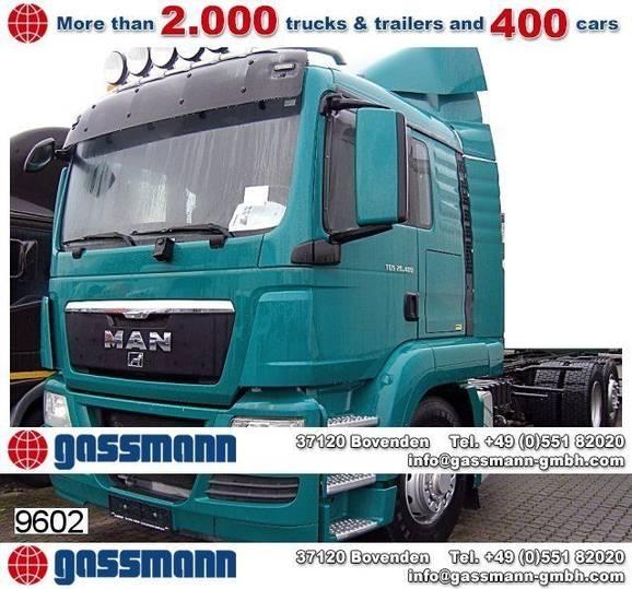 MAN tgs 26.480 6x4h-2 bl, hydrodrive - 2011