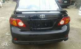 Toyota corolla 7month use first body 09 2010 nothing to fix buy n driv