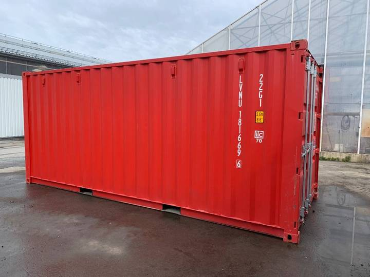 Container Knallröd Ny 20fotare, Vill Du Synas? - 2019
