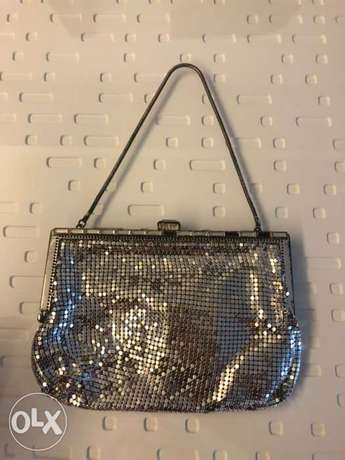 Silver purse 70s style
