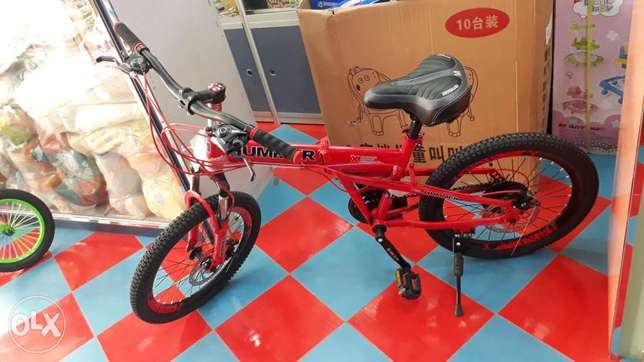 "20"" hummer folding red colour cycle for sale"