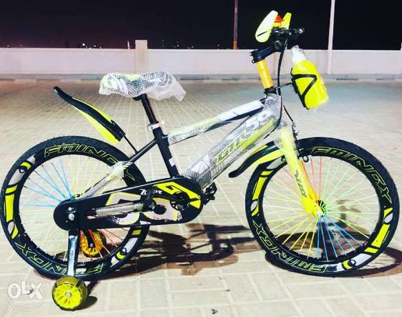 """New arrival cycle for kids size 20""""with LED lights on the side tiers"""