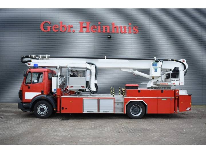 Mercedes-Benz 1834 SK 4x2 Wumag Elevant WTF 300 Firetruck Like New! - 1998