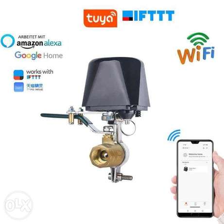 Smart Home Automation Valve for gas and water - محبس ذكي للغاز والماء