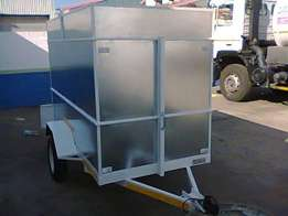Enclosed trailers. 2.5m x 1.2m x1.6m