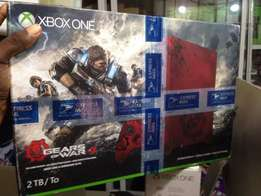Xbox one s Gears of war Edition!!