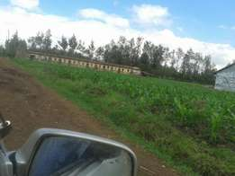 1/4 plot at kabati shopping center, second row from tarmac.