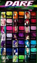 DARE Neon Hair Colors & Products