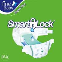 Fine Baby Super Dry - Smart Lock Jumpo Packs SIZE 2,3 4 5 6