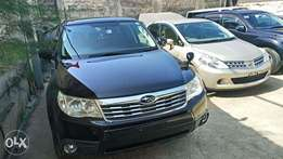 Freshly imported Black Forester Subaru with dark interior KCP