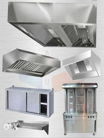 Kitchen Hood making and fixing