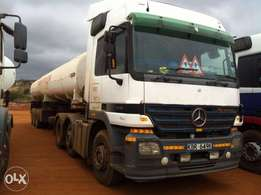 Quick Sale!!! MERCEDES BENZ Actros 2546( FUEL TANKER)