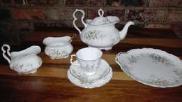 Royal Albert tea set for 12 persons.