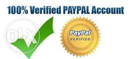 Verified Foreign Paypal account to send/receive money
