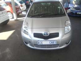 2007 Toyota Yaris T3 Automatic selling for R77000.