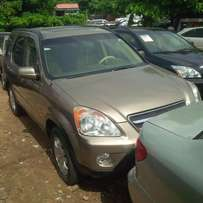 Nigerian Used Honda CR-V, 2005. Very Okay First-Body. Full Option.