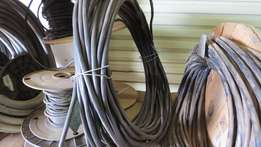 Cable UVG 02 ACV with Armoured PVC Black