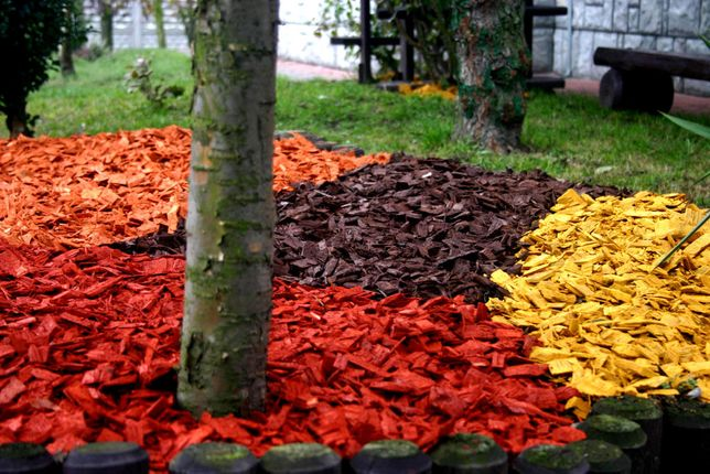 Kolorowe Zrebki Dekoracyjne Kolorowa Kora Dekoracyjna