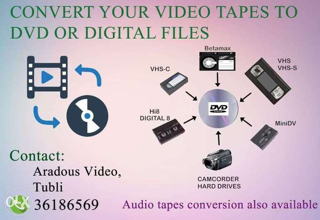 Tape to DVD/USB