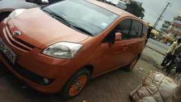 Toyota passo settle 7seater