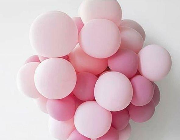 Balony Pastelowe Baby Shower Roczek Urodziny Dekoracje Z Balonów