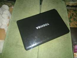 Clean Toshiba Satellite Laptop
