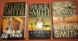 Wilbur Smith Books for Sale (Soft Cover)