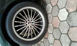 Rims with tyres- Ford Focus