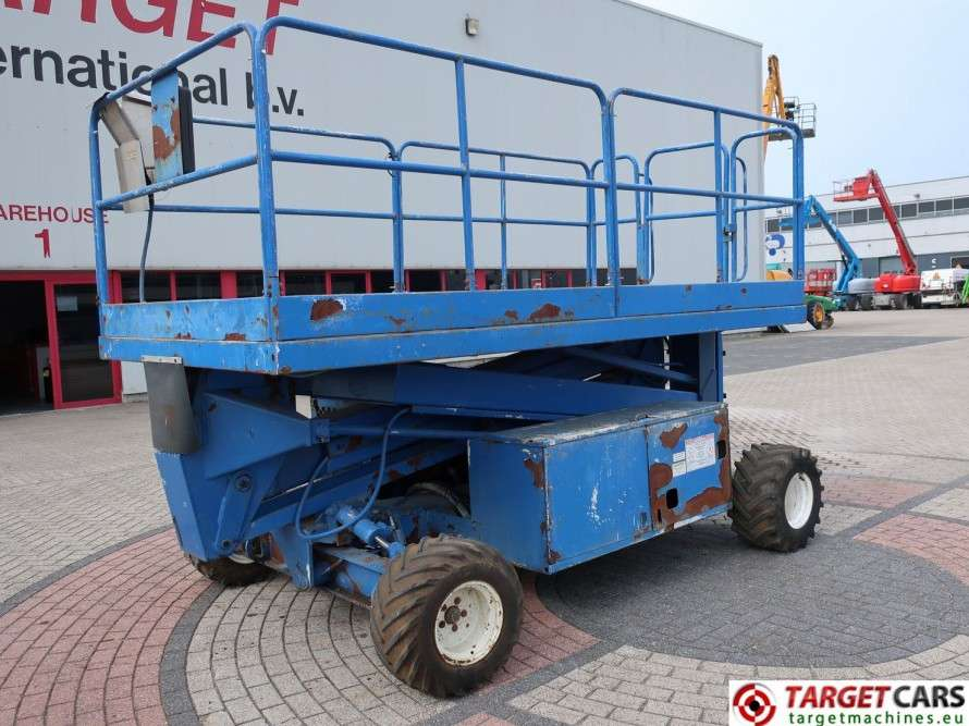UPRIGHT SL26RT Diesel 4x4 Scissor Work Lift 993cm - 1999