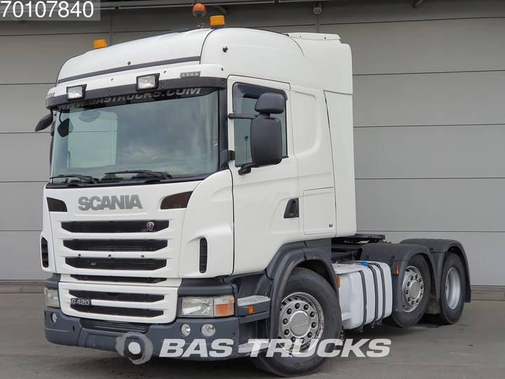 Scania G420 6X2 Retarder Lift+Lenkachse Hydraulik Euro 5 - 2012